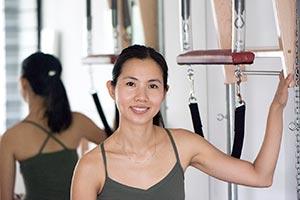Pilates teacher in Kuala Lumpur